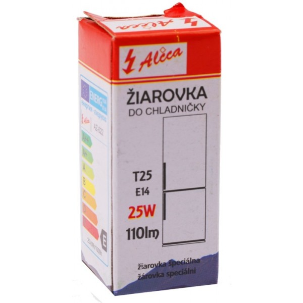 25W E14 240V T25 žiarovka do chladničky Alica