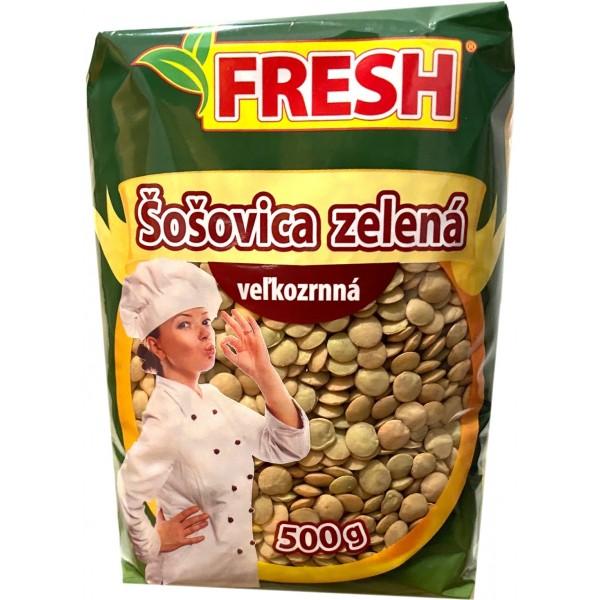 ŠOŠOVICA ZELENÁ VEĽKOZRNNÁ 500G FRESH