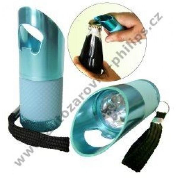 Lampáš PAVEXIM LED S-3978, kovová, 9xLED modrá (334074)