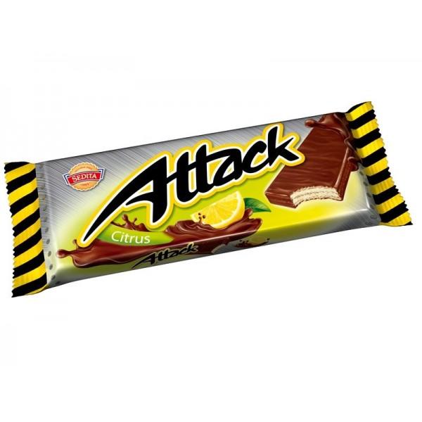 ATTACK oblátka citrónová 30g