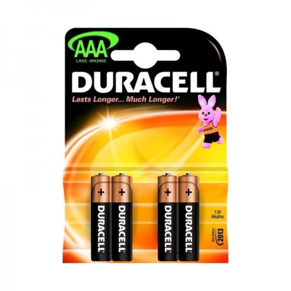 Batéria Duracell LR03 BASIC alkalická AAA
