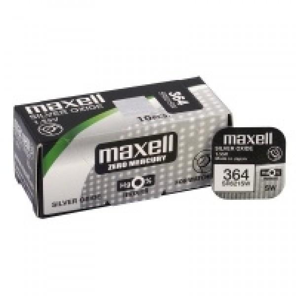 Batéria gombíková mini Maxell 364, SR 621 SW, G1