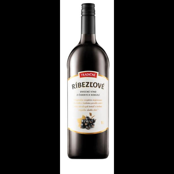 CHATEAU TOPOĽČIANKY Ríbezľové tradičné víno