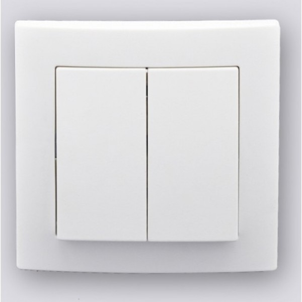 CLASSIC RANGE - vypínač č. 5 biely