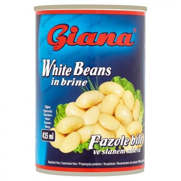 Giana Biela fazuľa v slanom náleve 400 g