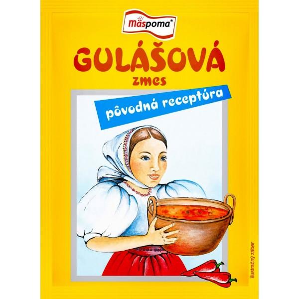 """Gulášová zmes """"Pôvodná receptúra"""" Mäspoma 50g"""
