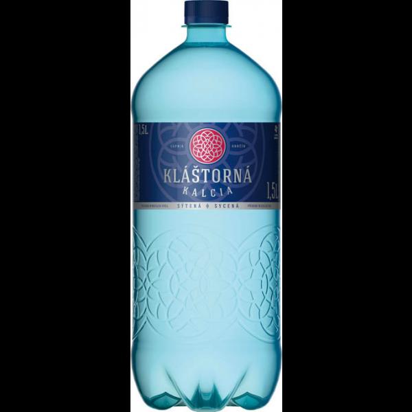 Kláštorná Kalcia minerálna voda jemne sýtená 1,5 l