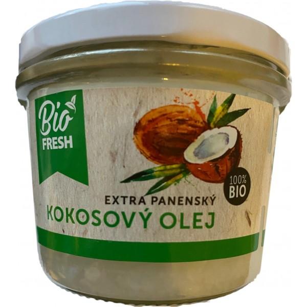 Kokosový olej Extra panenský BIO 200ml, Fresh