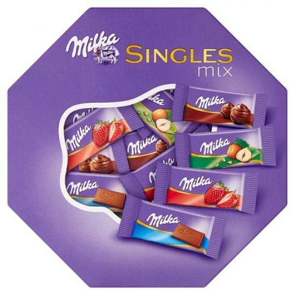 Milka Singles Mix 138 g