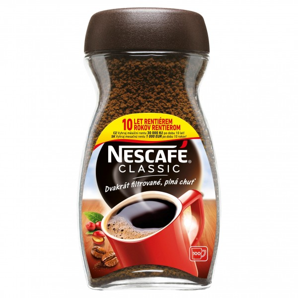 NESCAFÉ CLASSIC, instantná káva, 200 g