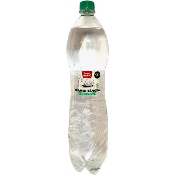 Pramenitá voda Fresh Sýtená 1,5 l