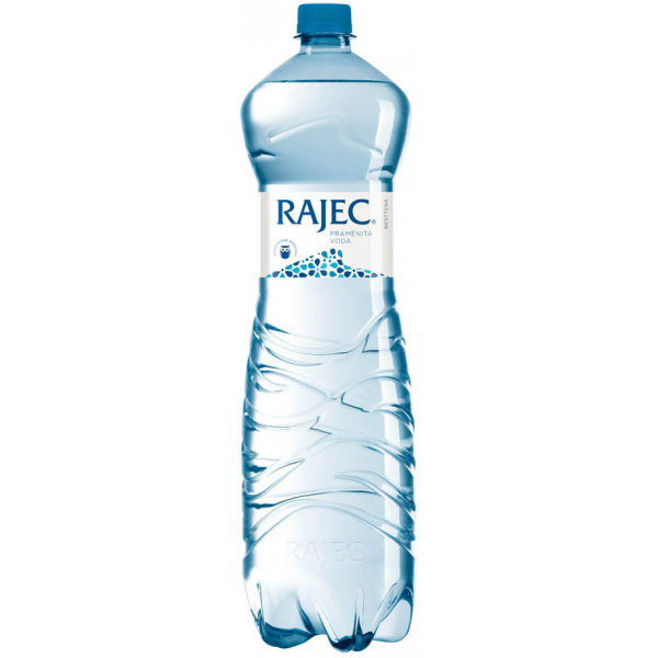 Rajec pramenitá minerálna voda nesýtená 1,5 l