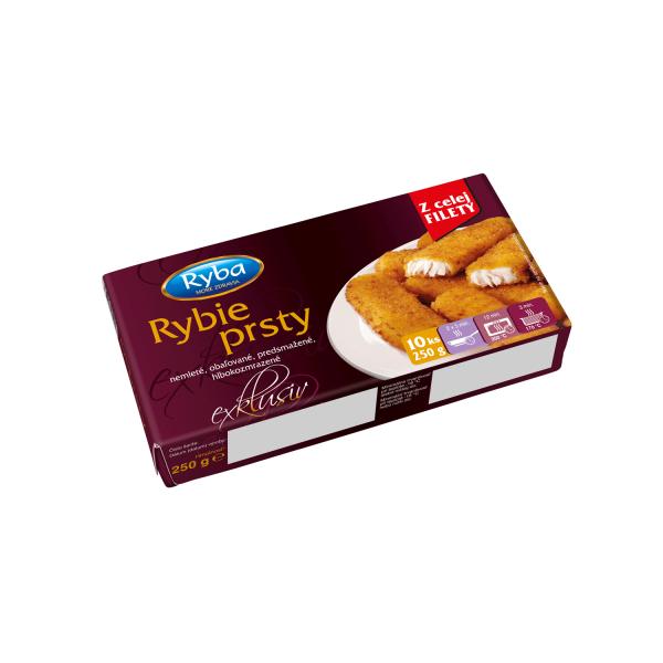 RYBA RYBACIE PRSTY EXL. NEMLETÉ, 250 g