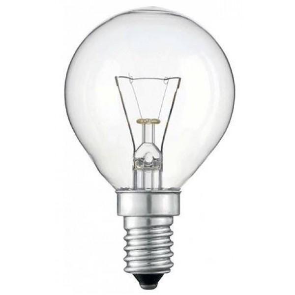 Žiarovka čirá TES-LAMP otrasuvzdorná 60W E14 P45