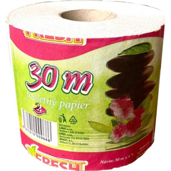 Papier toaletný Fresh 30m 2-vrstvový