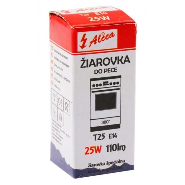 Žiarovka do pece T25 E14 25W 110lm ALICA