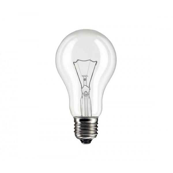 25W E27 240V A55 otrasuvzdorná a špeciálna žiarovka na vysoké teploty, číra AZ