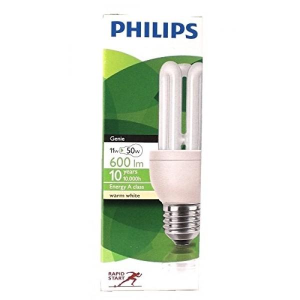 Philips žiarovka Genie 11W/827 8Y E27 úsporná