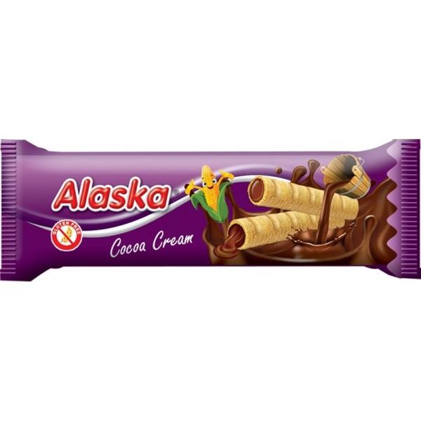 Alaska kukuričné trubičky s kakaovým krémom 18 g