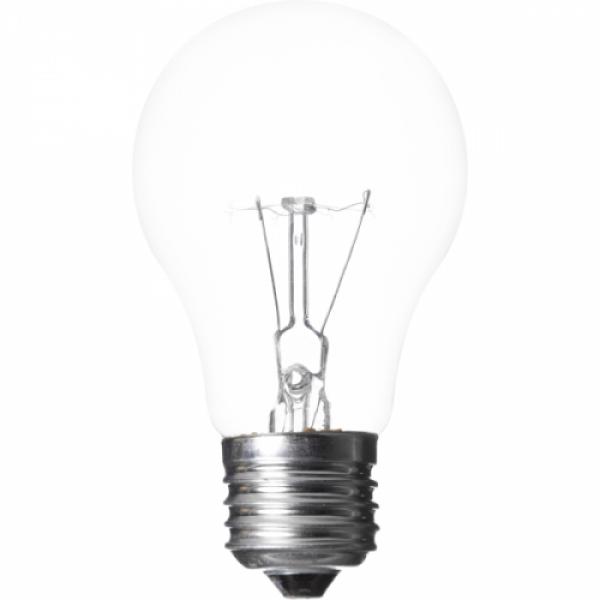 Žiarovka otrasuvzdorná A55-E27-40W, E27, 40W, číra, 320lm AZ