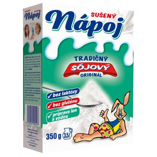 SÓJOVÝ SUŠENÝ NÁPOJ náhradka mlieka 1×350 g