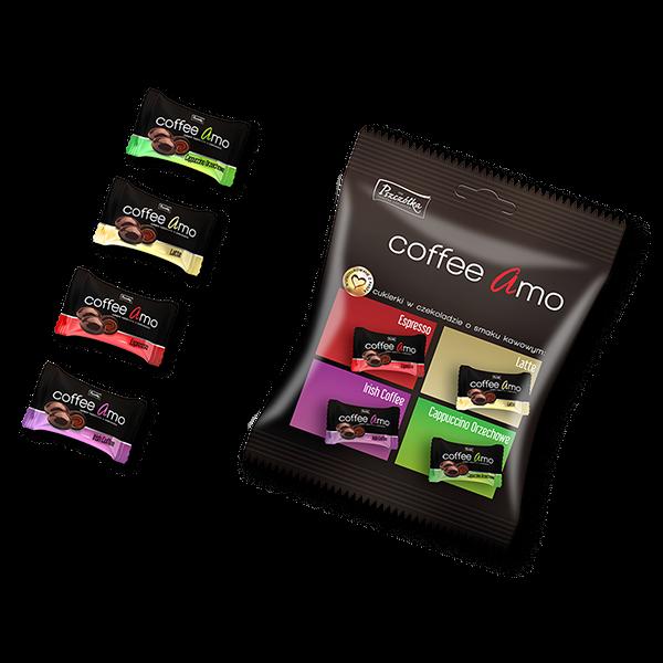 Coffee Amo cukríky čokoládové 100g
