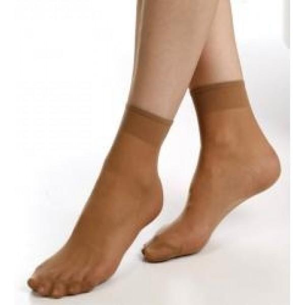 Dámské ponožky PAD A09 Velkosť 27 Farba 1420 hnedá 20DEN