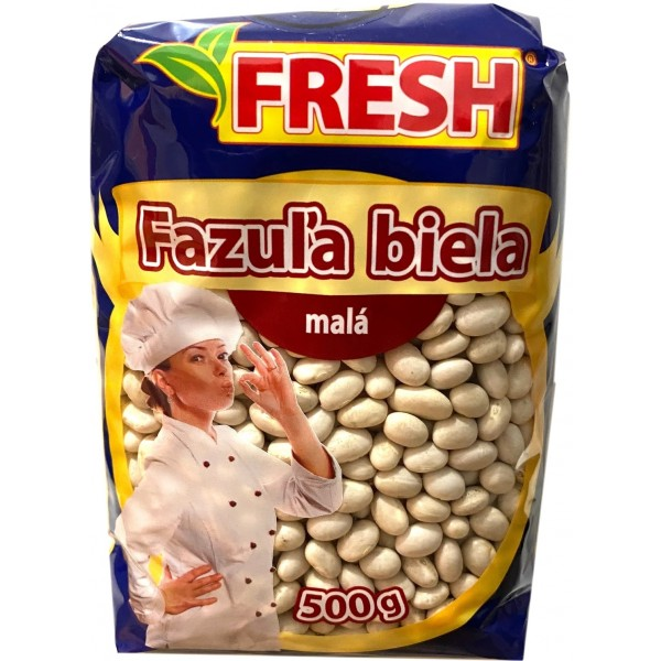 FAZUĽA BIELA MALÁ 500G FRESH