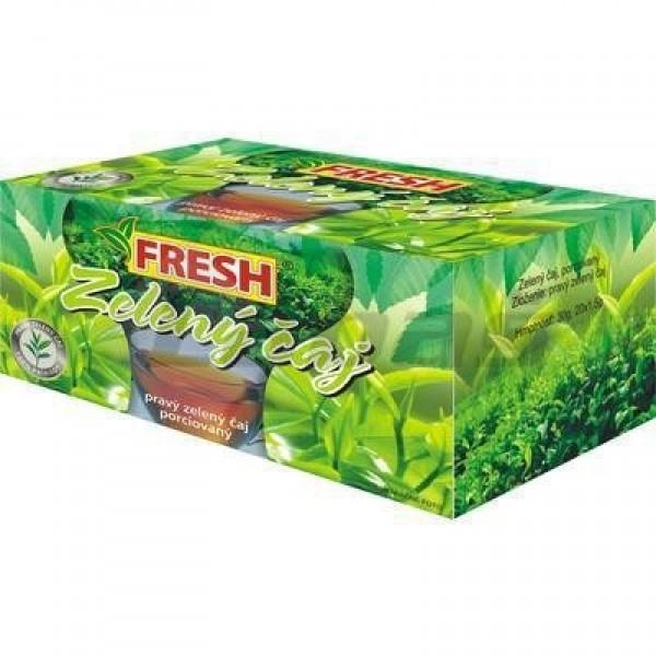 Fresh zelený čaj porciovaný 30g