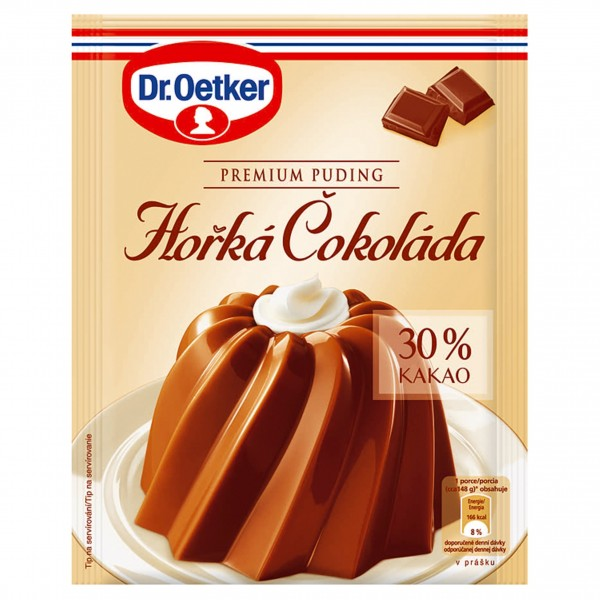 Horká čokoláda Premium puding DR.Oetker 52 g