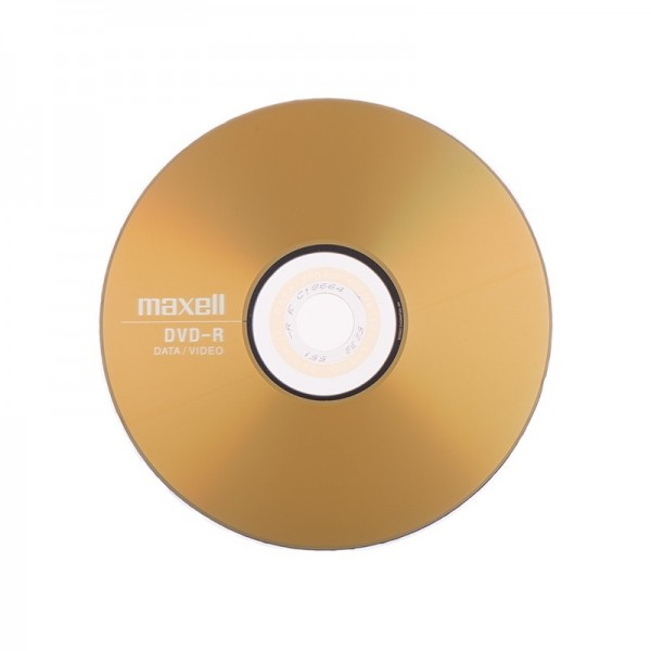 Maxell DVD-R 16x 4,7GB Paper Sleve