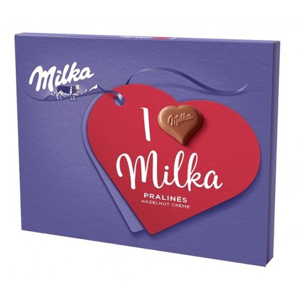 Milka I love Milka nugát bonboniéra 110 g