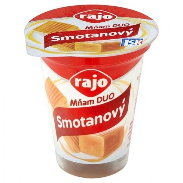 Rajo Mňam DUO Smotanový jogurt karamel 145 g